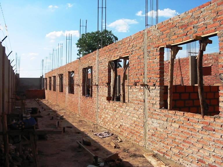 La Fabrica de la Sonrisa - costruzione