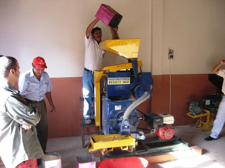 Pozo Colorado - attrezzatura per la lavorazione del riso)