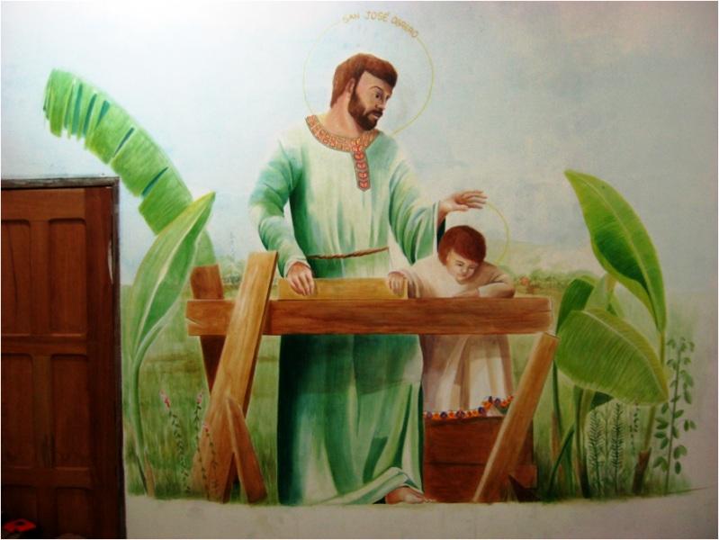Dipinto di Chiara e Simone