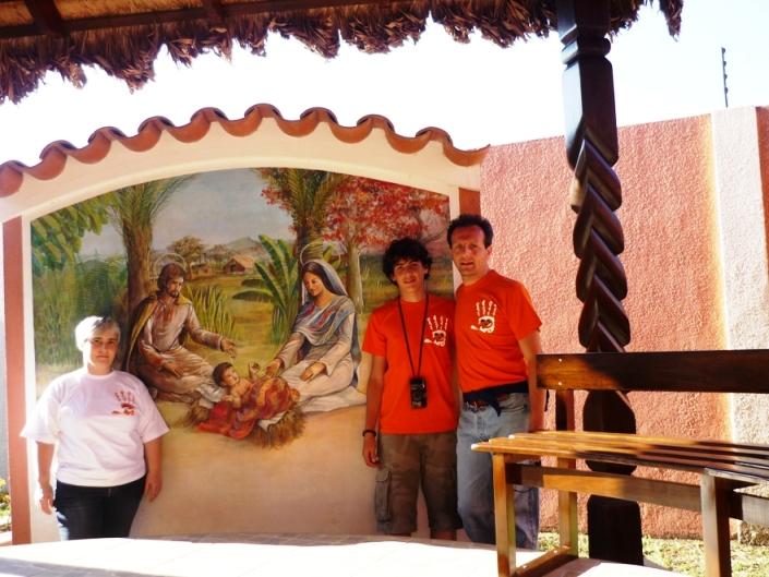 Giuseppe, Simone e Miriam