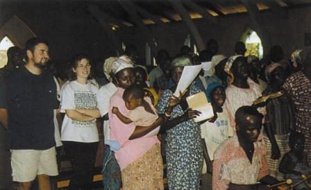 Marzia e Luca (Repubblica Centrafricana)