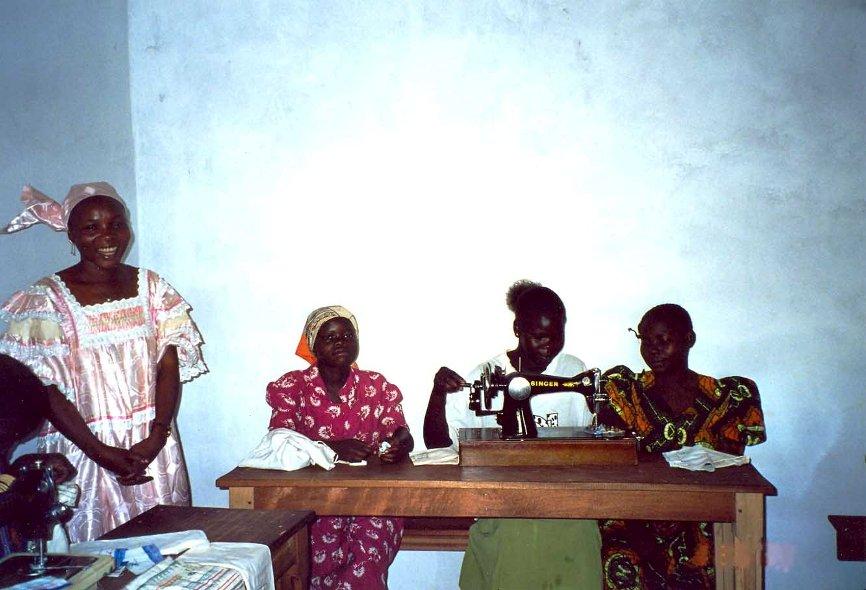 Scuola per donne a Baoro